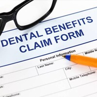 Dental benefit claim form