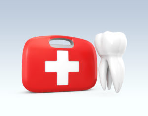 Tooth and first aid kit